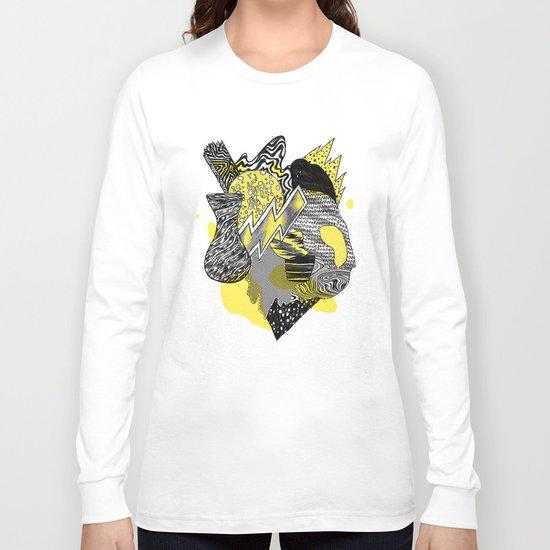 Vase on galaxies Long Sleeve T-shirt