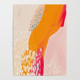 The Abstract Shape Of Spring Poster
