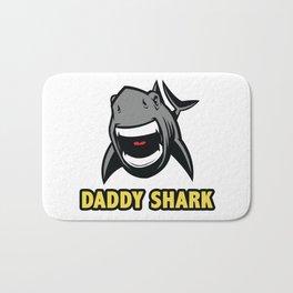 Daddy shark Bath Mat