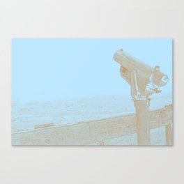For Distant Viewing Canvas Print