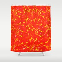 china Shower Curtains featuring China by Fernando Vieira