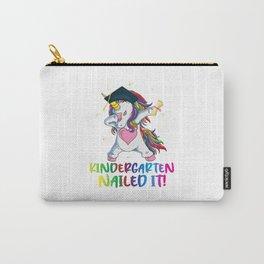 Flossing Unicorn Kindergarten Graduation Cap Funny Carry-All Pouch
