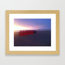 Bring the Colors Back - Sunset Framed Art Print