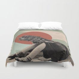 A Plan of Action Duvet Cover