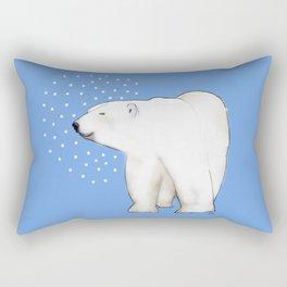 Polar Bear #8 Rectangular Pillow
