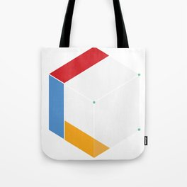 Premade Logo - Cube Connected Tote Bag