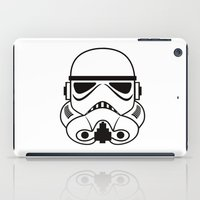 stormtrooper iPad Cases featuring stormtrooper by Vreckovka