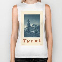 Vintage poster - Tyrol Biker Tank
