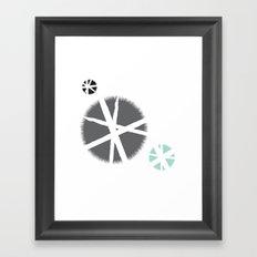 poufs Framed Art Print