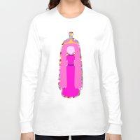 princess bubblegum Long Sleeve T-shirts featuring PRINCESS BUBBLEGUM by Andrew Inc.