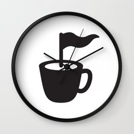 Caffee Point Wall Clock