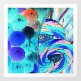 Lollipops & Gumballs Art Print