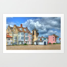 South Lookout Tower, Aldeburgh Art Print