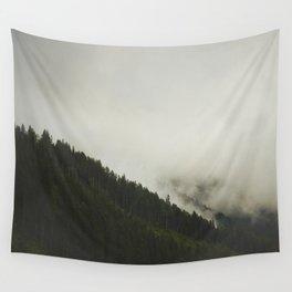 Evergreen Mist Wall Tapestry