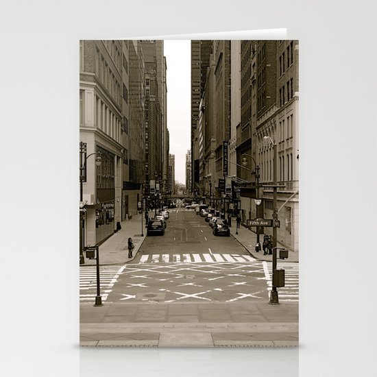 """""""fifth ave"""" Stationery Cards"""