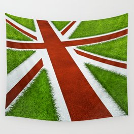 UK track and field Wall Tapestry