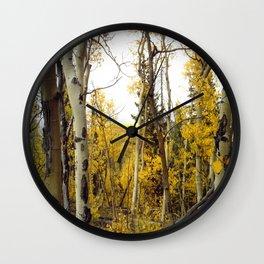 An Aspen Groves View Wall Clock