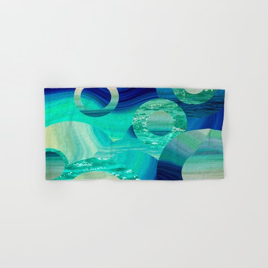 SEA-NCHRONICITY Hand & Bath Towel