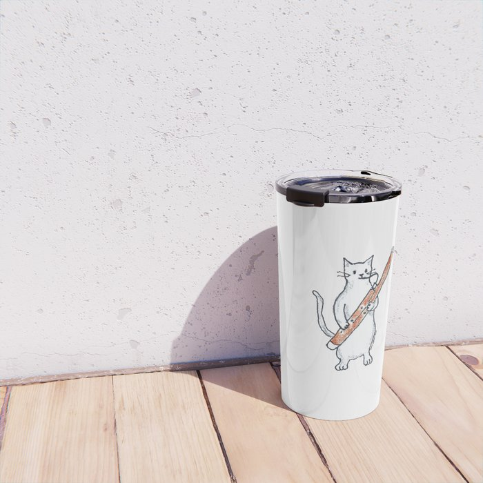 Meowtet: Basie Travel Mug