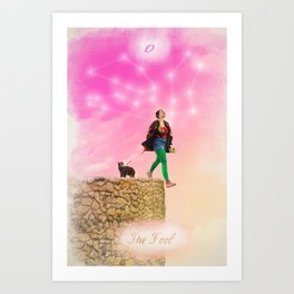 0. The Fool Art Print