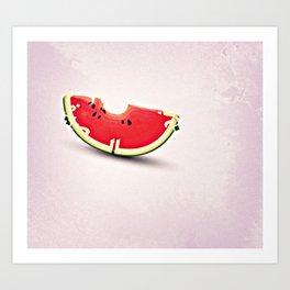 Summer is here Art Print