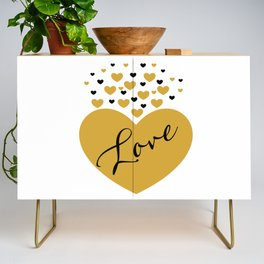 Love is Gold Credenza