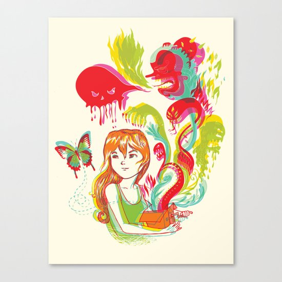 Pop Goes Disaster! Canvas Print