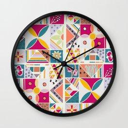 sunshine prairie Wall Clock