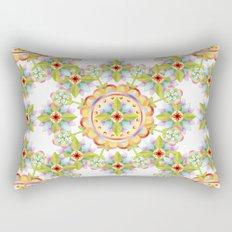 Starflower Blossoms Rectangular Pillow