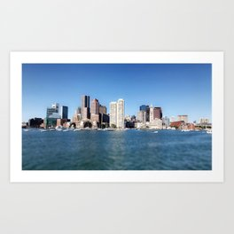 Boston You're My Home Art Print