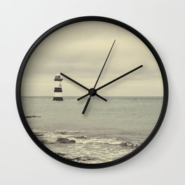 Pen Mon lighthouse Wall Clock
