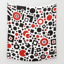 Red & Black Wall Tapestry