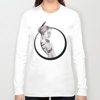 native Long Sleeve T-shirts featuring Native by Skollart