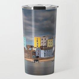 Tenby harbour Pembrokeshire Travel Mug