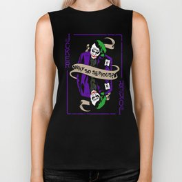 The Joker Heath Biker Tank