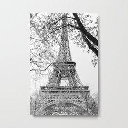 Eiffel Tower X Metal Print