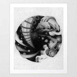 Alternate Universe Art Print