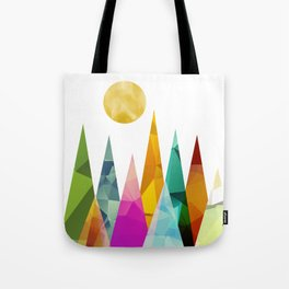 Moon in the Forest Tote Bag
