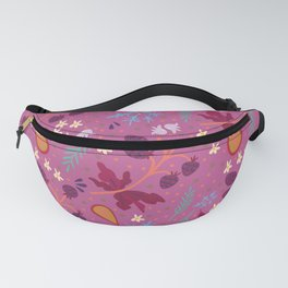 berry pattern Fanny Pack
