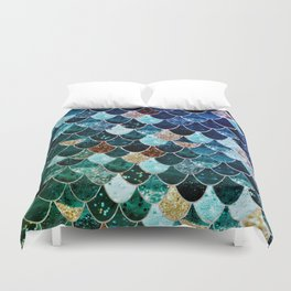 REALLY MERMAID TIFFANY Duvet Cover