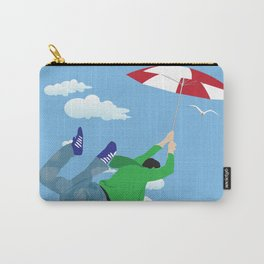 umbrella-man Carry-All Pouch