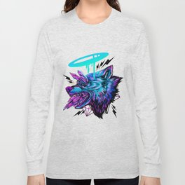 Crystal Wolf Long Sleeve T-shirt