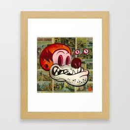 Hell Mut Framed Art Print