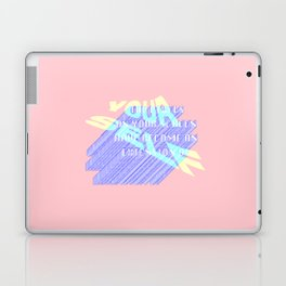 THE PIXELS ON YOUR SCREEN HAVE BECOME AN EXTENSION OF YOURSELF Laptop & iPad Skin