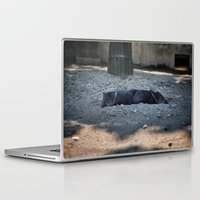 pigs Laptop & iPad Skins featuring Little pigs by DB.Photography