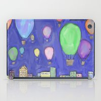 hot air balloons iPad Cases featuring hot air balloons by Kaylabeaisaflea