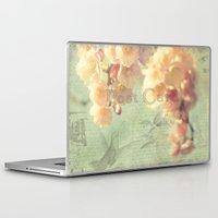 postcard Laptop & iPad Skins featuring Postcard by AlejandraClick