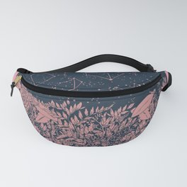 pink stars and flowers Fanny Pack