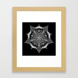 Mandala No. 1 Framed Art Print