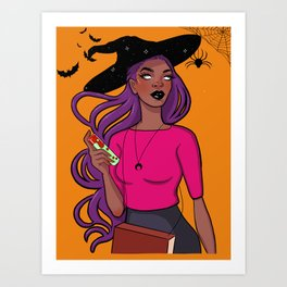 To All My Bad Witches Art Print